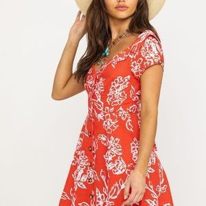 NWT Free People Thing Called Love Dress